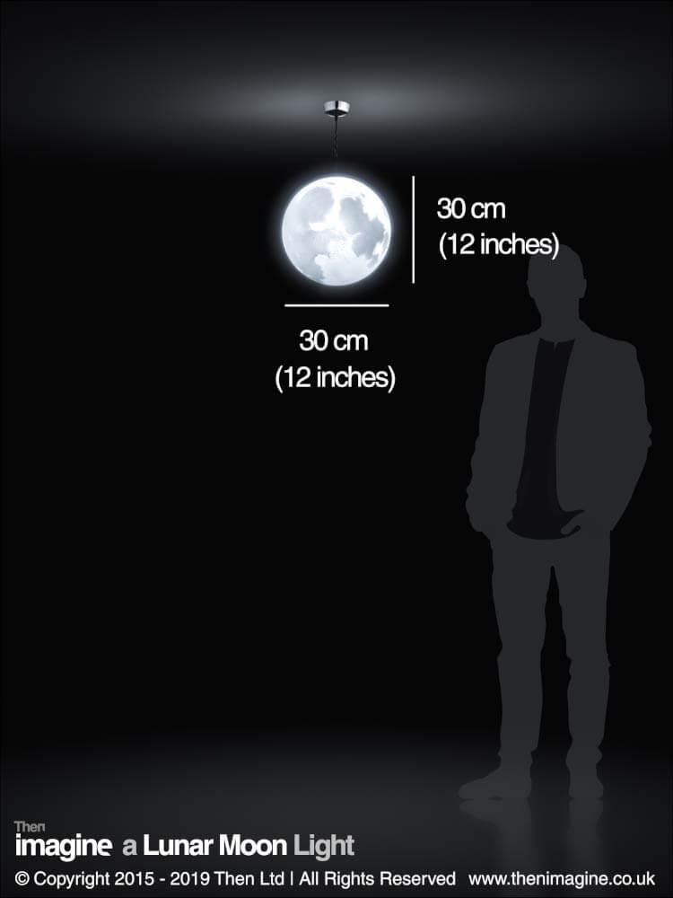A Lunar Moon Ceiling Pendant Light Shade Then Imagine