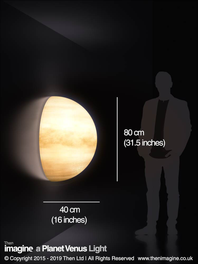 A Planet Venus Wall Light Then Imagine
